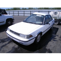 Fresno Acura on Used 1992 Toyota Corolla Parts Car   White With Gray Interior  4