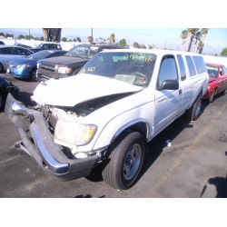 Fresno Acura on Used 1998 Toyota Tacoma Parts Car   White With Brown Interior  6 Cyl