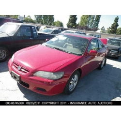 Fresno Acura on Used 2001 Honda Accord Ex Parts Car   Red With Brown Interior  6