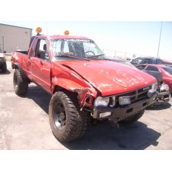 Fresno Acura on Used 1988 Toyota Pickup Parts Car   Red With Gray Cloth Interior  6cyl