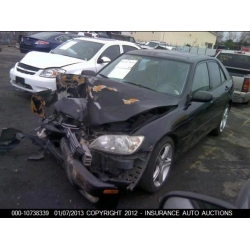 Fresno Acura on Used 2001 Lexus Is300 Parts Car   Black With Black Interior  6