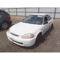 Used 1998 Honda Civic EX Parts Car - White with gray interior, 4 cylinder engine, 5 speed transmission