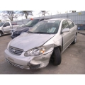 Used 2004 Toyota Corolla Parts Car - Silver with gray interior, 4 cylinder engine, Automatic transmission