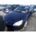 Used 2003 Honda Accord EX Parts Car - Black with tan interior, 4 cylinder, Automatic transmission