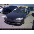 Used 2002 Honda Accord Parts Car - Black with black interior, 4 cylinder engine, Automatic  transmission