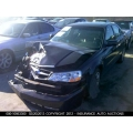 Used 2003 Acura TL Parts Car - Black with black interior, 6 cylinder, automatic  transmission