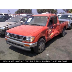 Fresno Acura on Used 1996 Toyota Tacoma Parts Car   Red With Gray Interior  6 Cyl