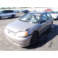 Used 2001 Honda Civic LX Parts Car - Gold with tan interior, 4 cylinder, automatic transmission