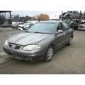 Used 2000 Hyundai Elantra Parts Car - Gray with gray interior, 4 cylinder, 5 speed transmission