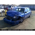 Used 2002 Hyundai Accent Parts Car - Blue with gray interior, 4 cylinder, Automatic transmission