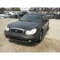 Used 2004 Hyundai Sonata Parts Car - Black with black interior, 6 cylinder, Automatic transmission