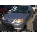 Used 2003 Honda Civic LX Parts Car - Silver with gray interior, 4 cylinder engine, Automatic transmission