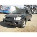 Used 2002 Hyundai Santa Fe Parts Car - Black with gray interior, 4 cylinder, Automatic transmission
