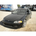 Used 1994 Honda Civic DX Parts Car - Black with gray interior, 4 cylinder, automatic  transmission