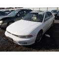 Used 2001 Mitsubishi Galant Parts Car - White with tan interior, 6 cylinder, automatic transmission