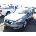 Used 2008 Honda Accord Parts Car - Green with black interior, 4cyl engine, automatic transmission