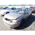 Used 2002 Kia Spectra Parts Car - Tan with gray interior, 4 cylinder engine, automatic transmission