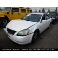 Used 2003 Nissan Altima Parts Car - White with gray interior, 4 cyl engine, Automatic transmission