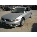 Used 2003 Mitsubishi Galant ES Parts Car - Silver with gray interior, 4 cylinder, automatic transmission