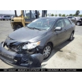 Used 2009 Toyota Corolla Parts Car - Gray with gray interior, 4 cylinder engine, Automatic transmission