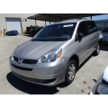 Used 2004 Toyota Sienna Parts Car - Gray with gray interior, 6 cylinder engine, Automatic transmission