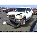 Used 2003 Toyota Sequoia Parts Car - White with gray interior, 4.7L 8 cylinder engine, Automatic transmission