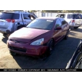 Used 2003 Honda Accord Parts Car - Burgundy with gray interior, 6 cylinder, automatic transmission
