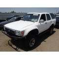 Used 1994 Toyota 4Runner Parts Car - White with gray interior, 6 cyl engine, Automatic transmission