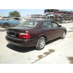 Used 2001 Mazda 626 Parts Car - Burgundy with tan interior, 4cyl engine, 5 Speed transmission
