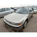 Used 1991 Honda Accord Parts Car - tan with burgundy interior, 4 cylinder engine, Automatic transmission