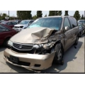 Used 2001 Honda Odyssey Parts Car - Gold with gray interior, 6 cylinder engine, Automatic transmission
