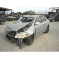 Used 2006 Toyota Corolla Parts Car - Silver with gray interior, 4 cylinder engine, Automatic transmission