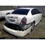 Used 2003 Nissan Altima Parts Car - White with black  interior, 4 cyl engine, Automatic transmission