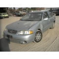 Used 2002 Nissan Sentra Parts Car - Silver with gray interior, 6 cyl engine, Automatic transmission