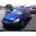 Used 2005 Honda Accord EX Parts Car - Blue with gray interior, 4 cylinder, Automatic transmission