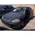 Used 1999 Honda Civic EX Parts Car - Green with beige interior, 4 cylinder engine, 5 speed transmission