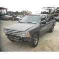 Used 1991 Toyota Pickup Parts Car - Gray with gray interior, 22RE engine, 5 speed transmission