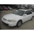 Used 1998 Honda Accord  Parts Car - white with tan interior, 4 cylinder engine, Automatic  transmission*