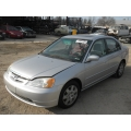 Used 2002 Honda Civic EX Parts Car - Silver with gray interior, 4 cylinder engine, Automatic transmission*