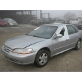 Used 2001 Honda Accord Parts Car - Silver with gray interior,4 cylinder engine,automatic  transmission*