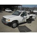 Used 2000 Toyota Tacoma Parts Car - White with gray interior, 4 cyl engine,manual transmission*