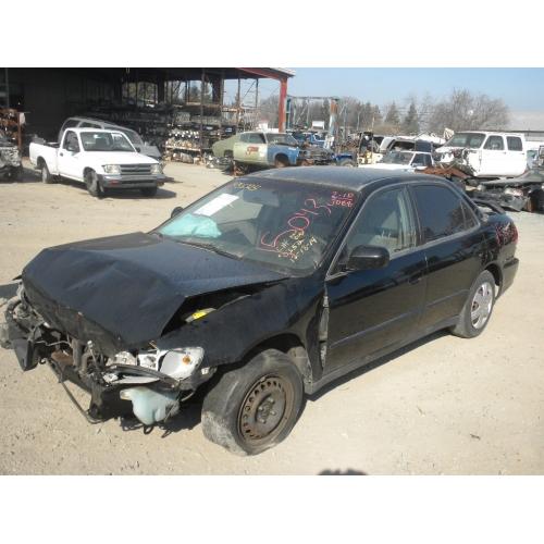 Used 1999 Honda Accord LX Parts Car  Black with gray interior 4