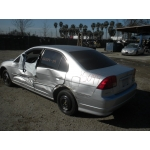 Used 2004 Honda Civic EX Parts Car - Silver with gray interior, 4 cylinder engine, Automatic transmission**