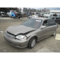 Used 2000 Honda Civic EX Parts Car - gold with taupe interior, 4 cylinder engine, automatic  transmission*