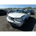 Used 2004 Acura RL Parts Car - White with tan interior, 6 cylinder, Automatic transmission