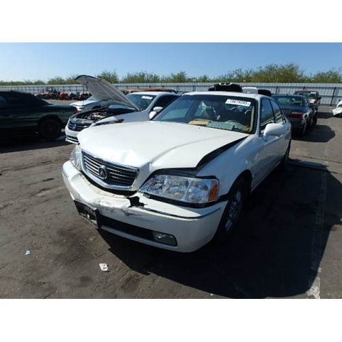Used Acura RL Parts Car White With Tan Interior Cylinder - Acura legend parts