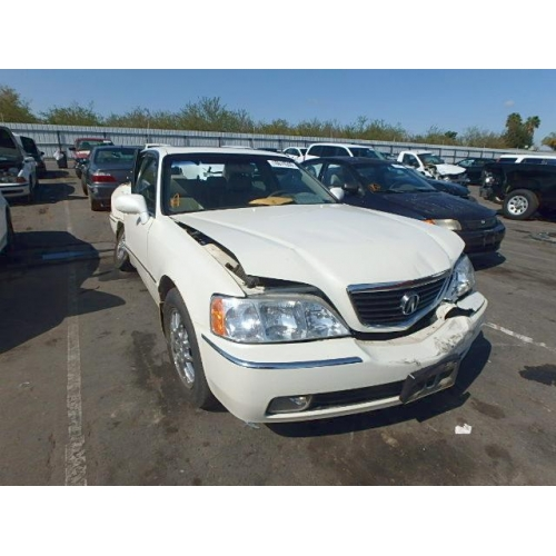 Used Acura RL Parts Car White With Tan Interior Cylinder - Acura rl 2002 parts