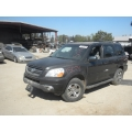 Used 2004 Honda Pilot Parts Car - Black with gray leather interior, 6cyl engine, automatic transmission*