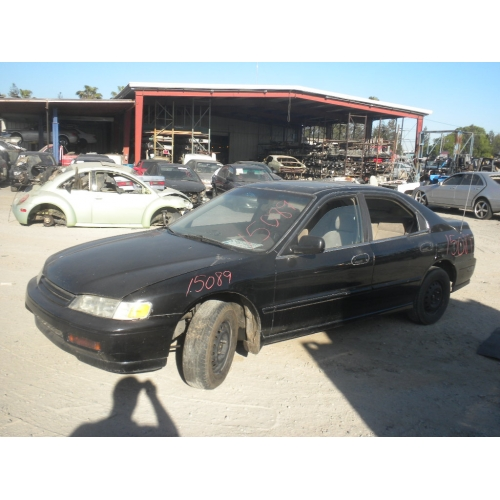 used 1995 honda accord ex parts car black with tan interior 4 cylinder engine automatic. Black Bedroom Furniture Sets. Home Design Ideas