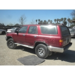 Used 1990 Toyota 4Runner Parts Car - Maroon with gray interior, 6 cyl engine, Automatic transmission*